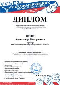 диплом Ильин Александр